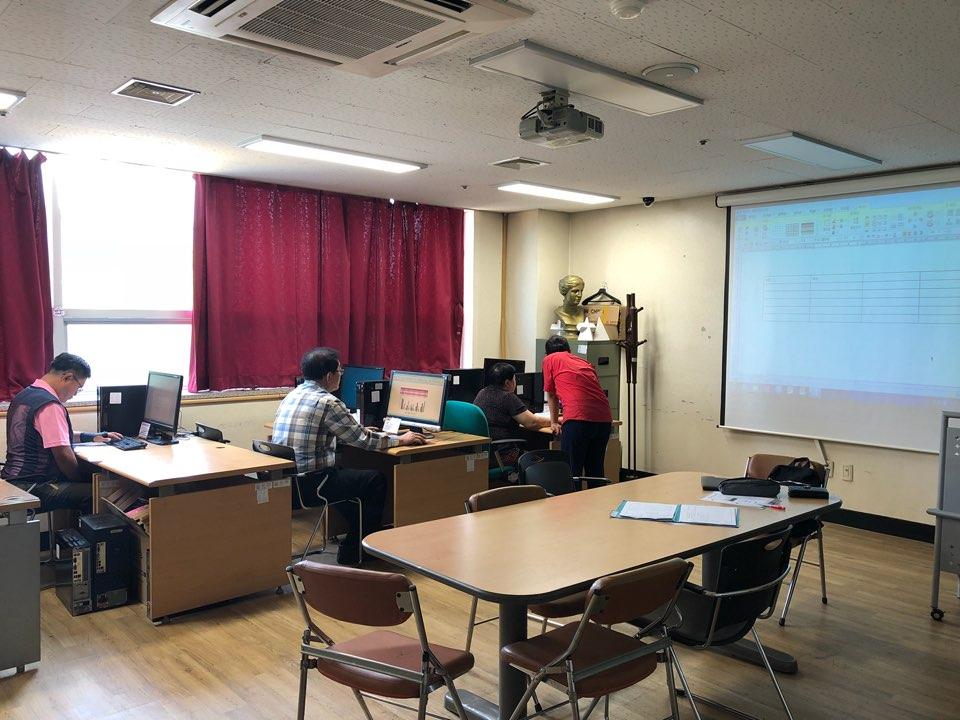 kt서포터즈와 함께하는 정보화교실