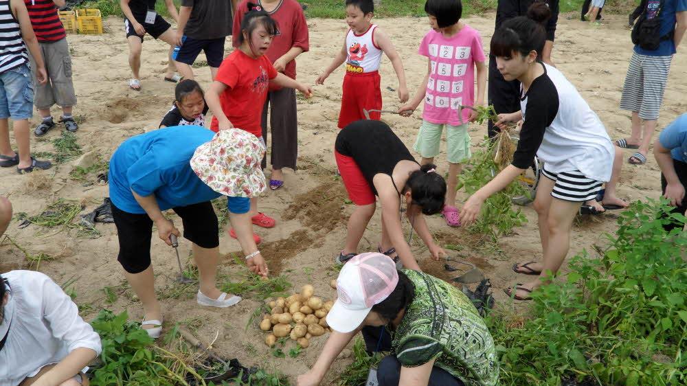 주간보호센터 2010년 여름캠프