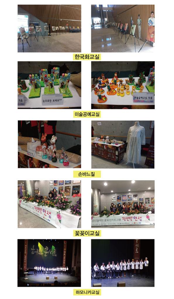 2016년 허브콘서트 전시회 및 공연