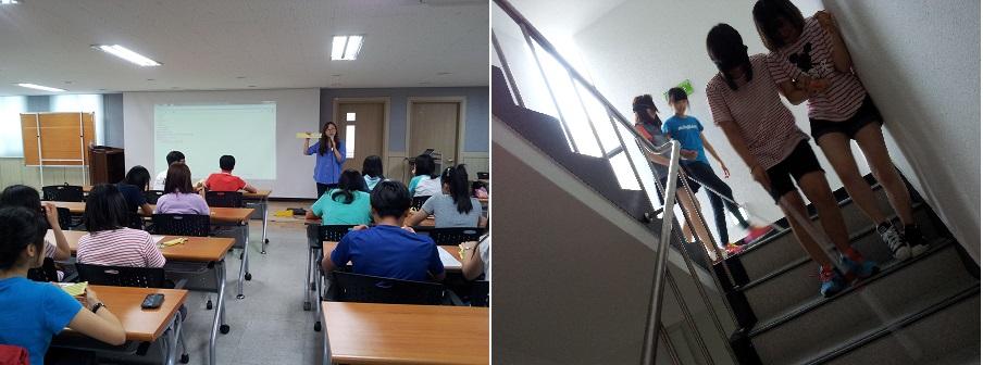 인천중구자원봉사센터 청소년봉사학교 장애인식개선교육 진행